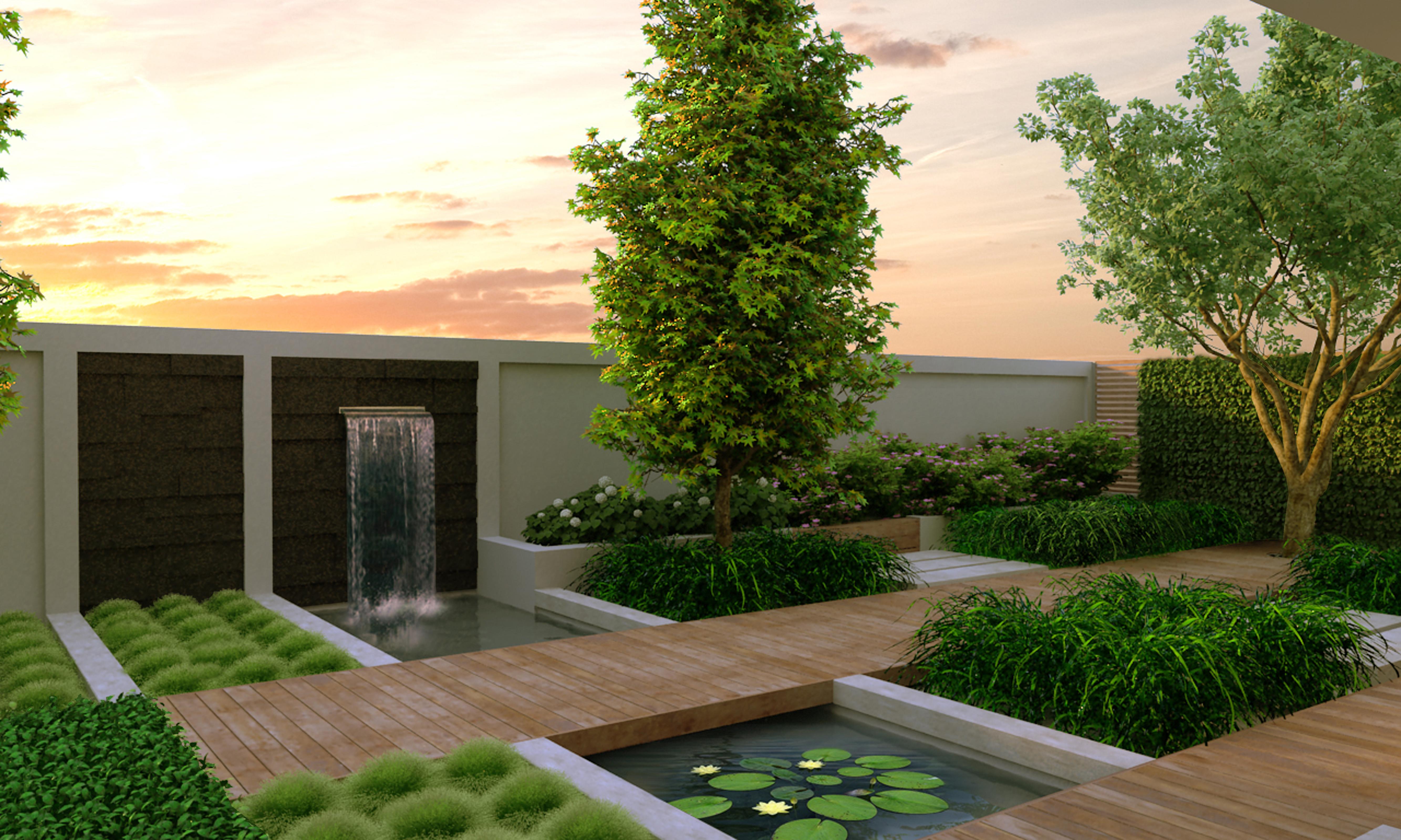 Tipy jak si vytvo it zahradu modern ho vzhledu asn for Garden idea et 700