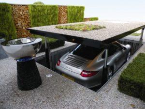 podzemní parkování